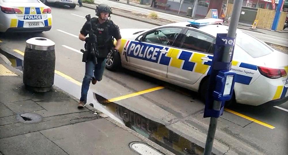 錄像揭示新西蘭一恐怖分子嫌犯被拘場景