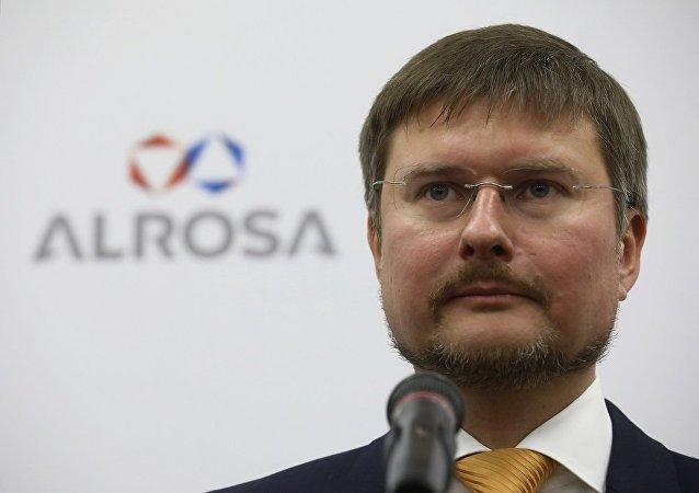 俄羅斯鑽石開採龍頭企業阿爾羅薩公司總經理謝爾蓋∙伊萬諾夫