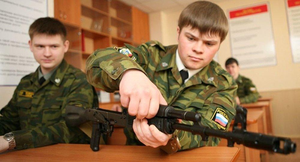俄93所高校將建設軍事訓練中心