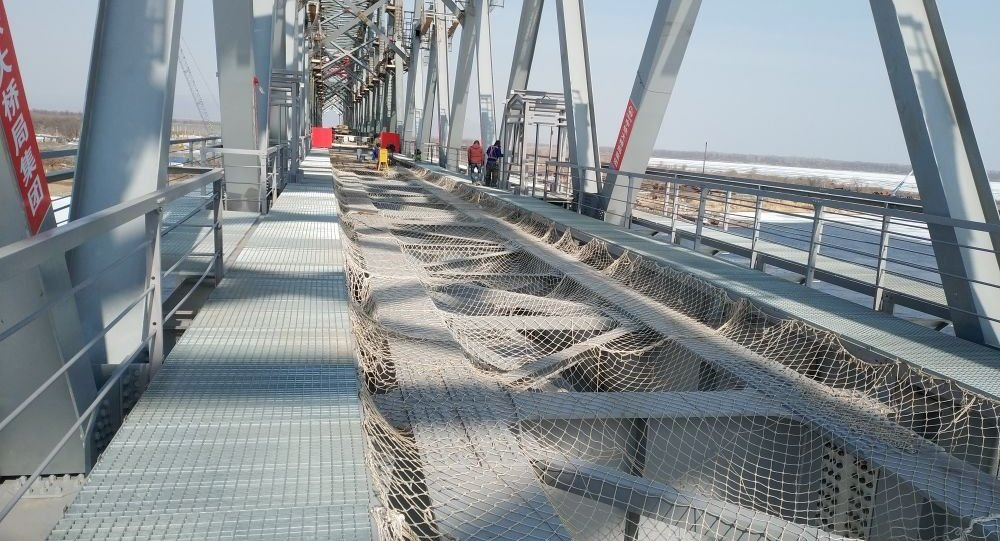 同江中俄鐵路大橋主體部分順利合龍