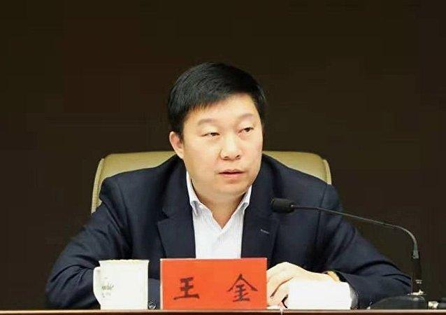 黑龍江省同江市市長王金