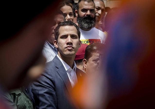 委內瑞拉反對派領導人胡安•瓜伊多