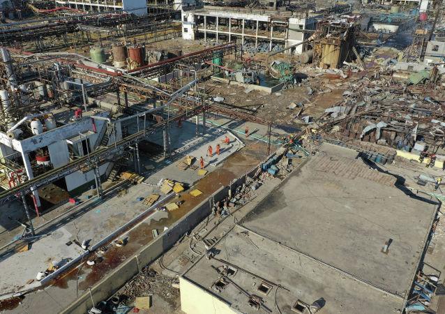 中國今年1至11月共發生化工事故127起 死亡157人