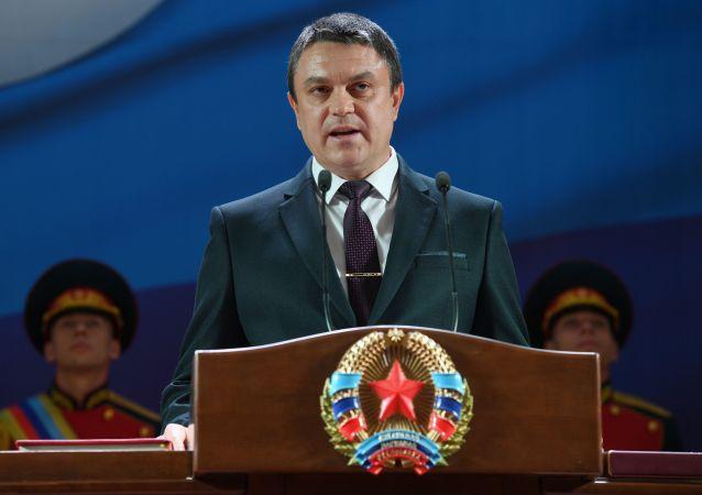 盧甘斯克領導人:頓巴斯衝突處於加劇階段 基輔正在撕毀協議