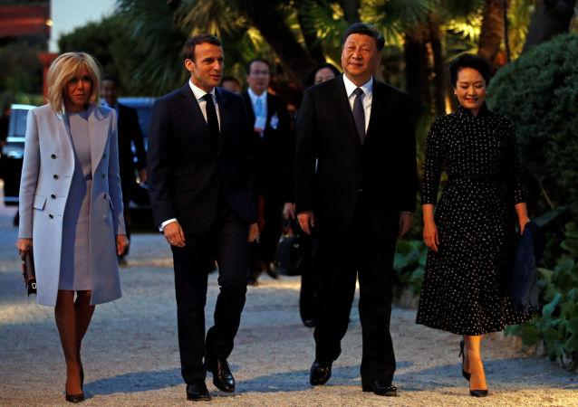 法國總統馬克龍:歐盟和中國將簽訂產品地理標誌保護協議