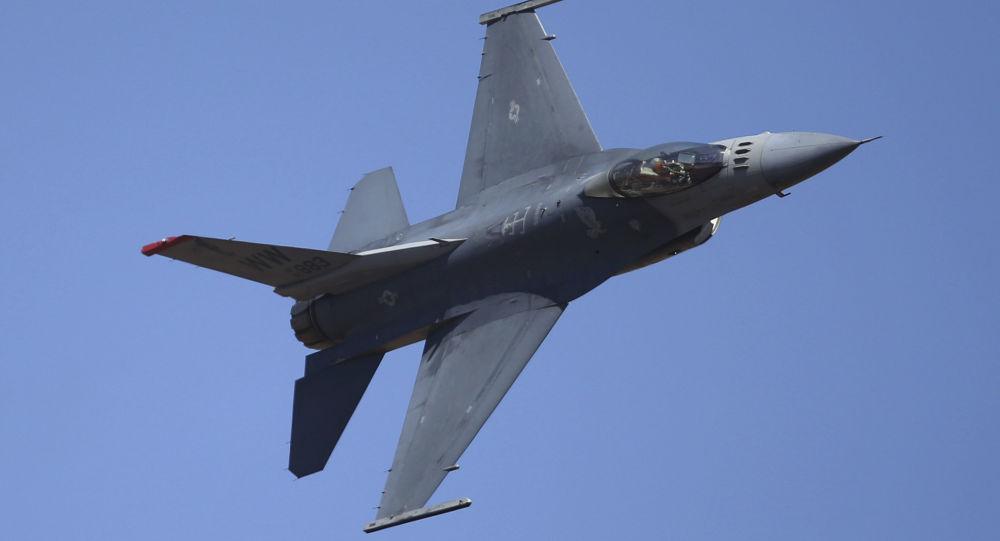 美空軍基地:在德國墜毀的F-16戰鬥機屬於美國空軍