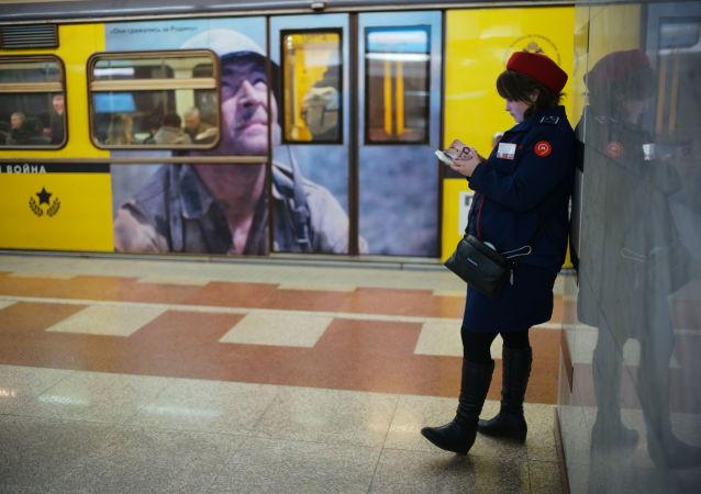 莫斯科地鐵(勝利廣場站)