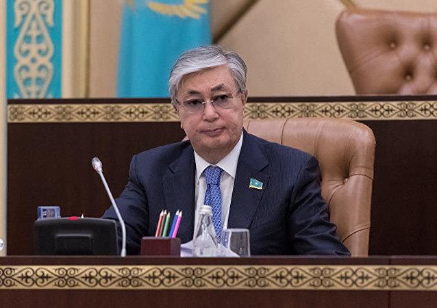 哈薩克斯坦總統托卡耶夫