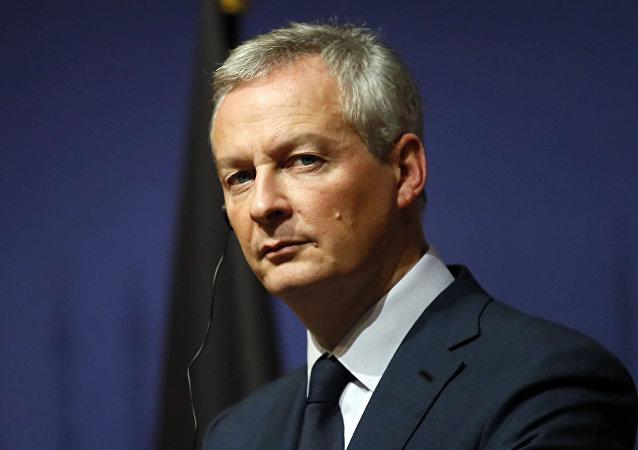 法國財政部長布魯諾·勒梅爾