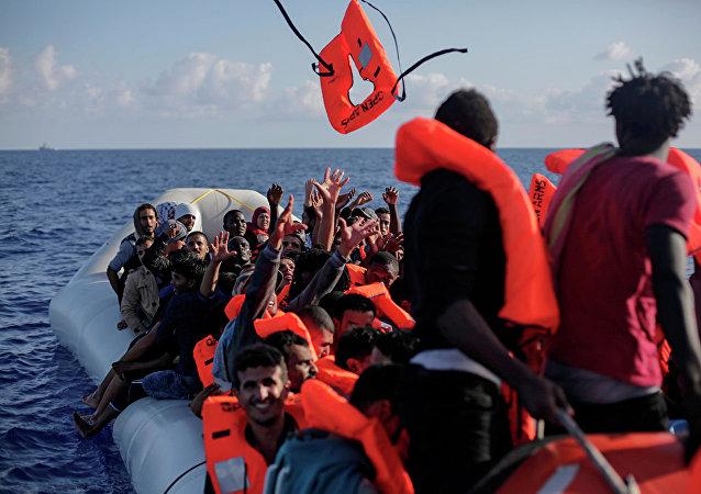 歐盟自2015年以來在地中海救援近73萬難民