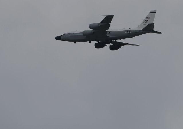 媒體:美軍一架偵察機19日上午從台灣東部空域經過