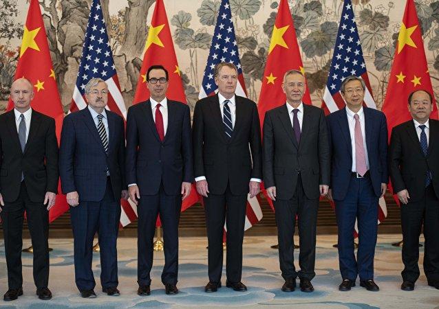 新華社:中美貿易談判協議文本有新的進展