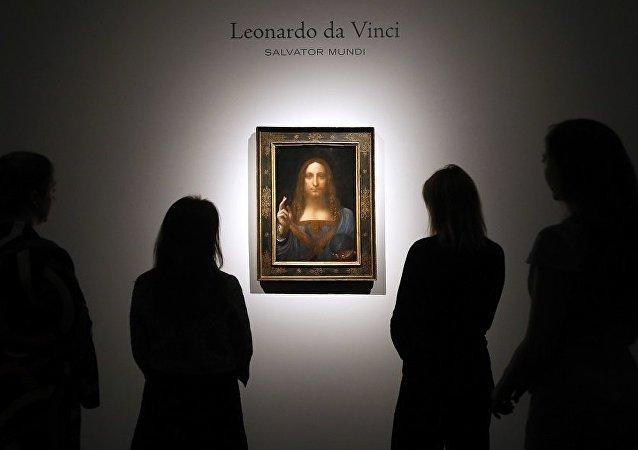 列昂那多•達•芬奇的畫作《救世主》
