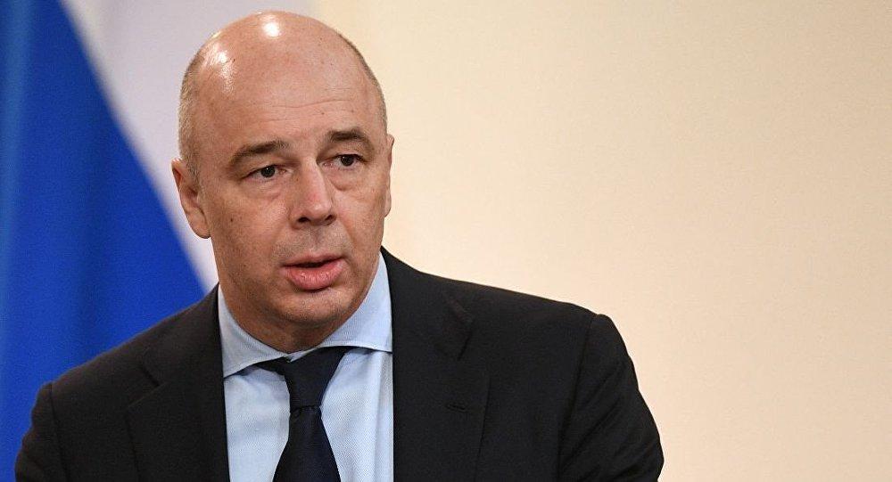 俄財長西盧安諾夫安東∙西盧阿諾夫