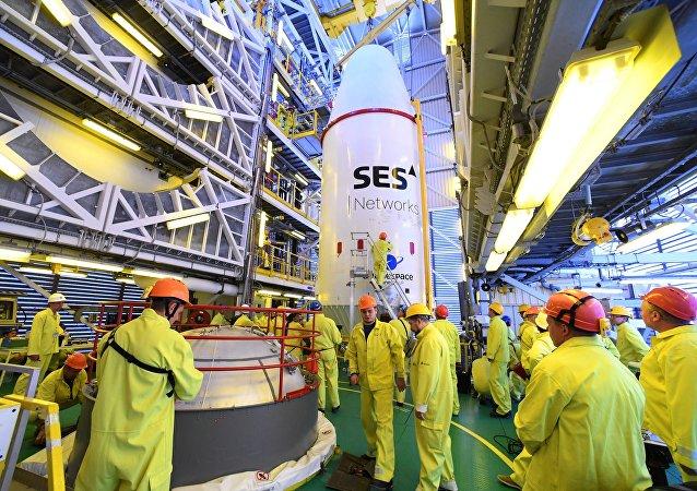 俄「聯盟-ST-A」火箭