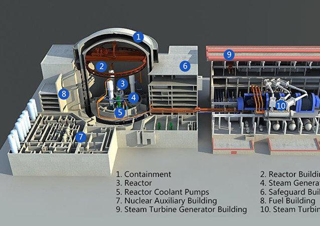 「華龍一號」核電站