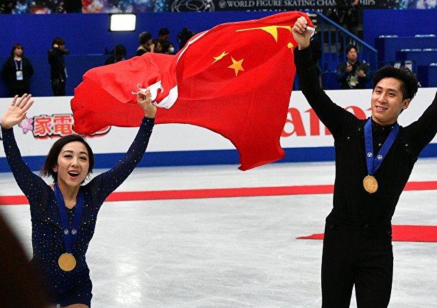 中國離世界花滑巔峰越來越近
