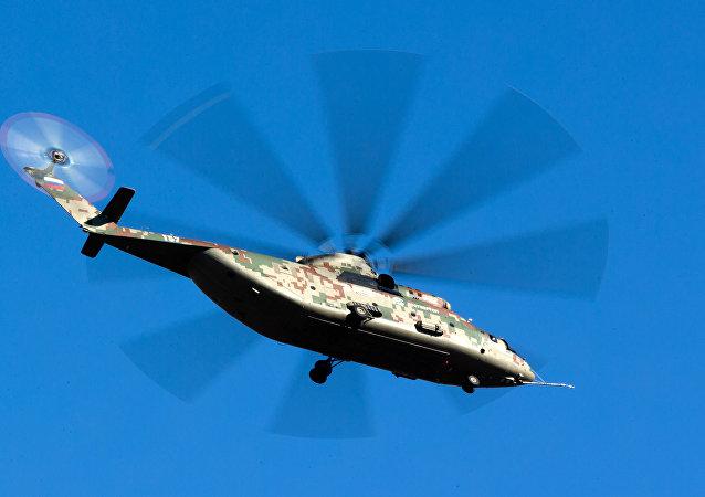 俄中計劃年底前簽署設立直升機維修服務中心的協議