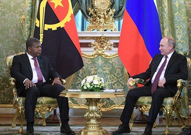 普京邀請安哥拉總統參加俄羅斯-非洲峰會