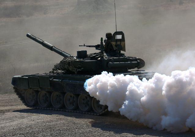 俄羅斯T-72B坦克