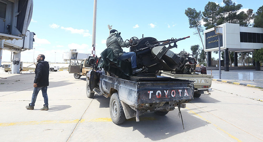 媒體:利比亞團結政府宣佈摧毀哈夫塔爾軍隊1架伊爾-76型運輸機
