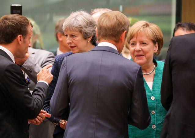 英國首相和德國總理贊同英國有序退出歐盟