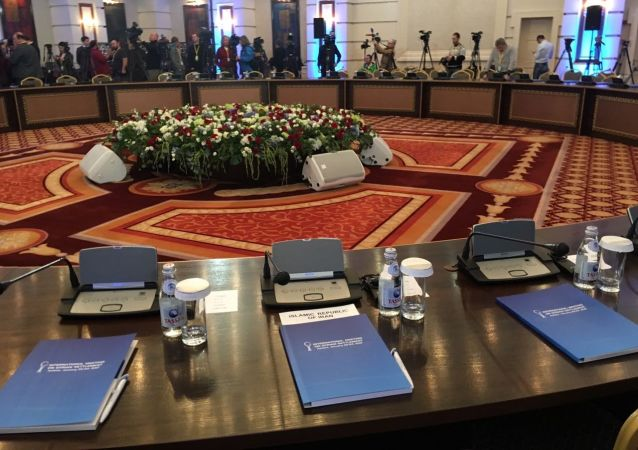 敘問題阿斯塔納和談在哈薩克斯坦首都開幕