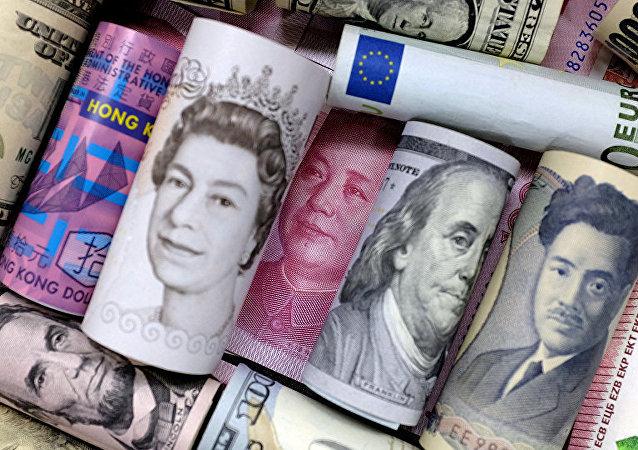 Юань, евро, доллар