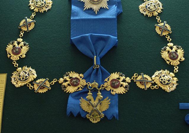 聖徒安德烈•佩爾沃茲方內勳章