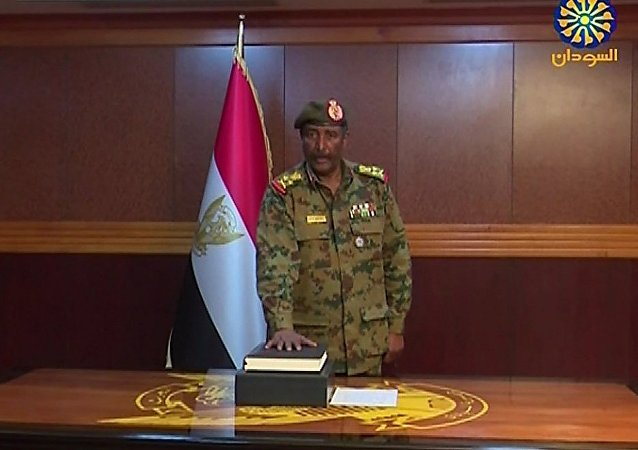 蘇丹過渡軍事委員會主席阿卜杜勒·法塔赫·布爾漢