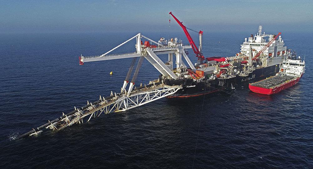 北溪-2號天然氣管道項目鋪設工作進度達到60%