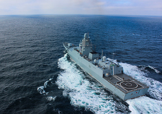丹麥軍方:俄一護衛艦在厄勒海峽與一民用船隻相撞