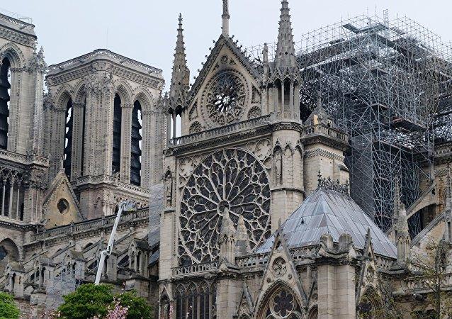 華媒:中國建築師方案獲巴黎聖母院屋頂設計大賽冠軍