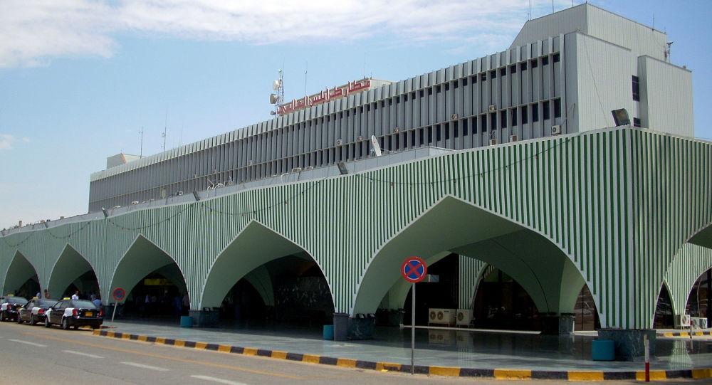 利比亞首都米提加國際機場
