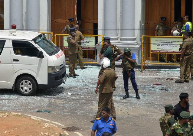 斯里蘭卡官員:爆炸後斯里蘭卡政府召集緊急會議