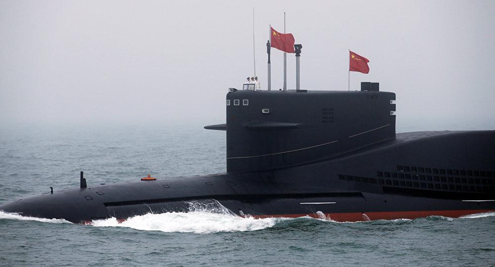 中國潛艇(資料圖片)