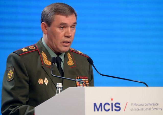 俄羅斯武裝力量總參謀長瓦列里·格拉西莫夫大將