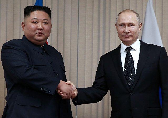 俄朝領導人商定加強兩國戰略合作