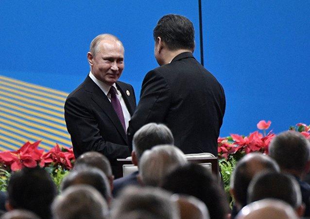 普京訪華並參與「一帶一路」論壇