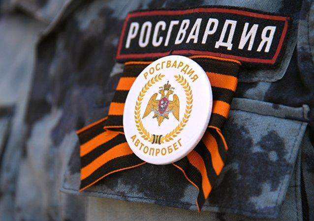 俄選出最美近衛軍戰士