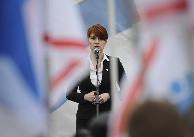 俄羅斯公民布京娜被美國法院判處18個月監禁