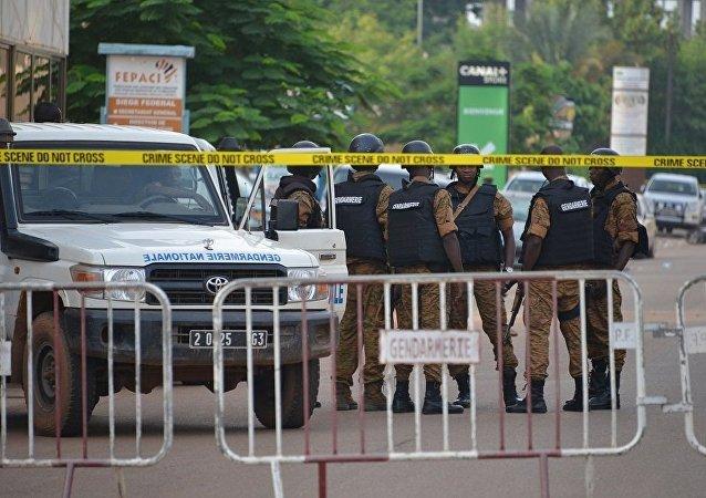 布基納法索警察