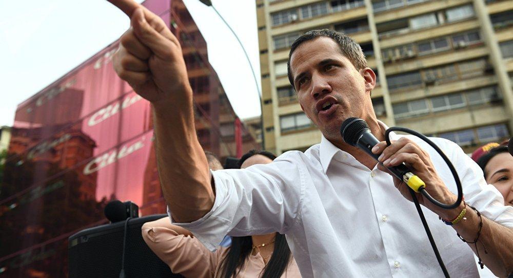 特朗普在白宮會見委內瑞拉反對派領導人瓜伊多