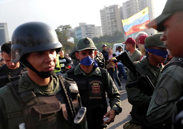 委內瑞拉軍人