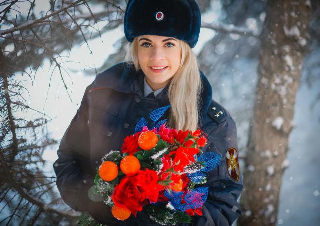 俄羅斯國民警衛隊的第一批美女