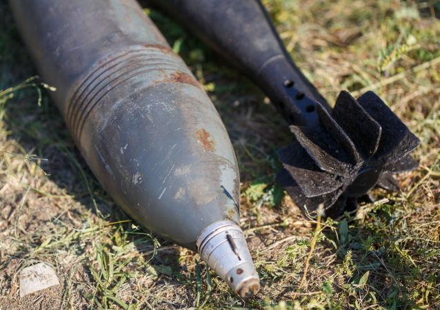 二戰遺留炮彈(資料圖片)