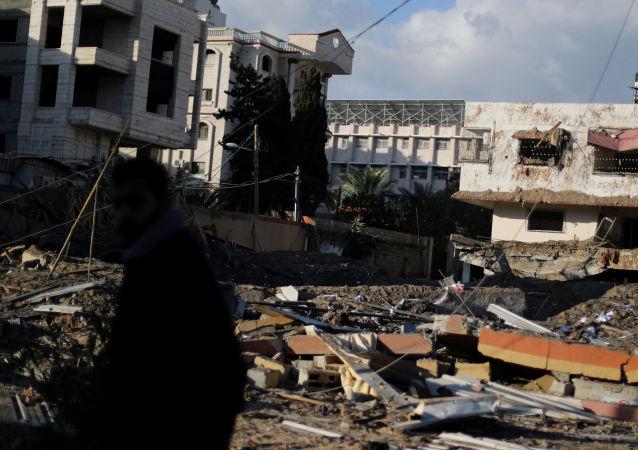 巴勒斯坦內政部宣佈加沙地帶所有安全機構進入緊急狀態