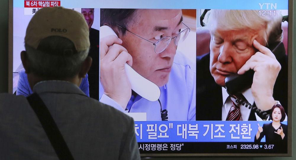 特朗普支持韓國對朝糧食援助計劃