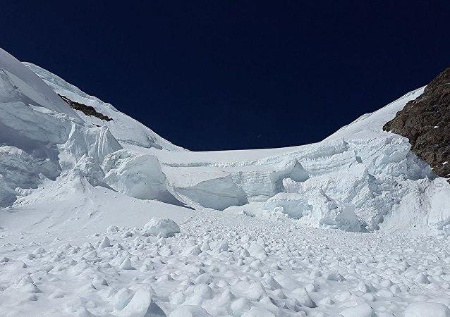 雪崩 (資料圖片)