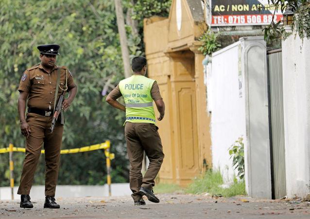 斯里蘭卡警方